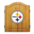 NFL® Pittsburgh Steelers Complete Dart Cabinet Set