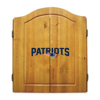 NFL New England Patriots Complete Dart Cabinet Set
