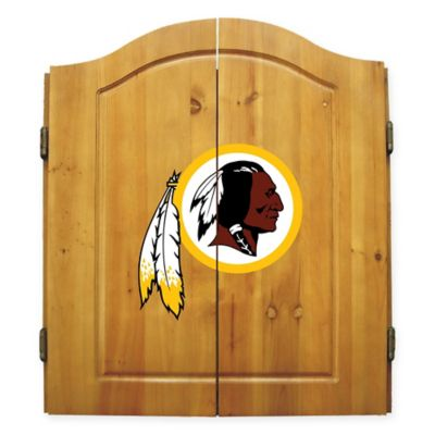 NFL Washington Redskins Complete Dart Cabinet Set