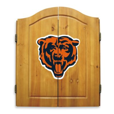 NFL Chicago Bears Complete Dart Cabinet Set