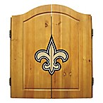 NFL® New Orleans Saints Complete Dart Cabinet Set