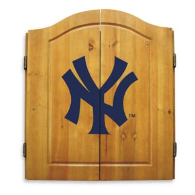 MLB® New York Yankees Dart Board with Cabinet