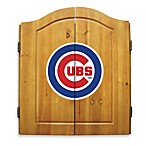 MLB® Chicago Cubs Dart Board with Cabinet