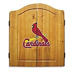 MLB® St. Lous Cardinals Dart Board with Cabinet