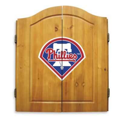 MLB® Philadelphia Phillies Dart Board with Cabinet