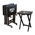 NFL® Philadelphia Eagles TV Trays with Stand (Set of 4)