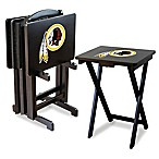 NFL® Washington Redskins TV Trays with Stand (Set of 4)