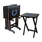 NFL® Indianapolis Colts TV Trays with Stand (Set of 4)