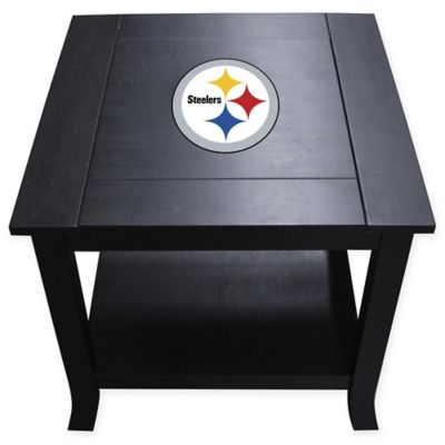 NFL Pittsburgh Steelers Side Table