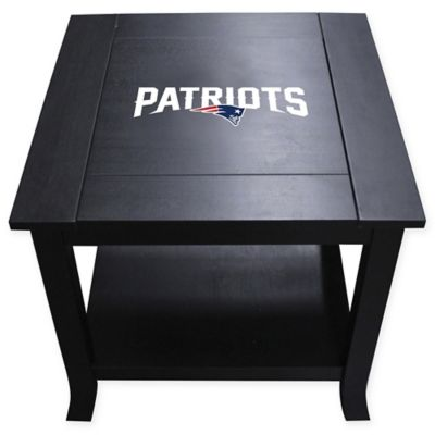 NFL New England Patriots Side Table