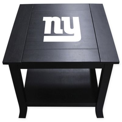 NFL New York Giants Side Table
