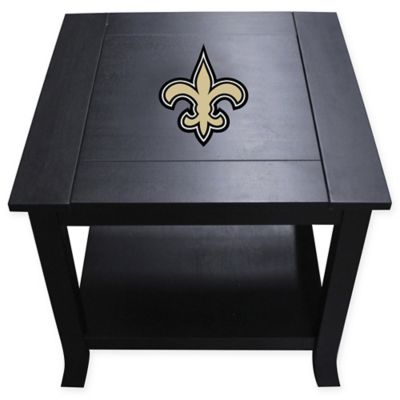 NFL New Orleans Saints Side Table