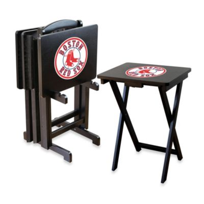 MLB Boston Red Sox TV Tray Set