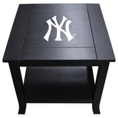 MLB New York Yankees Side Table
