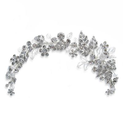 Brilliant Crystal Vine Headpiece