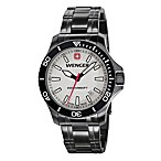 Wenger® Men's Sea Force Grey Dial/PVD Bracelet Watch