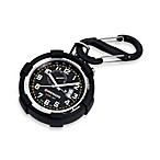 Traveler Pocket Alarm Black Dial