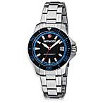 Wenger® Ladies Sea Force Stainless Steel Bracelet w/Blue Accents Watch