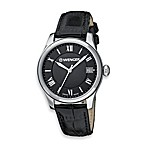 Wenger® Ladies Terragraph Roman Black Dial/Black Strap Watch