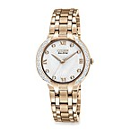 Citizen Ladies Eco-Drive Bella Diamond Accent Rose Gold-Tone Stainless Steel Bracelet