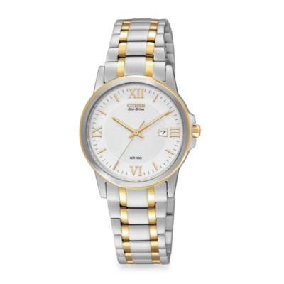 Citizen Ladies Eco-Drive Two-Tone Stainless Steel Bracelet
