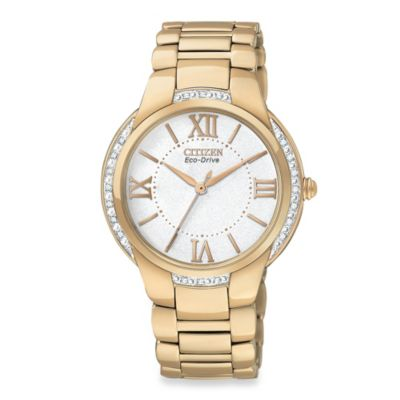 Citizen Ladies Eco-Drive Ciena Rose Gold Tone Stainless Watch
