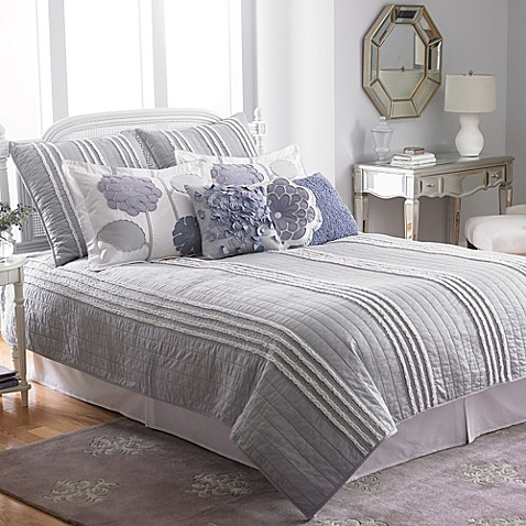 Laundry by Shelli Segal Bridget Mist Coverlet