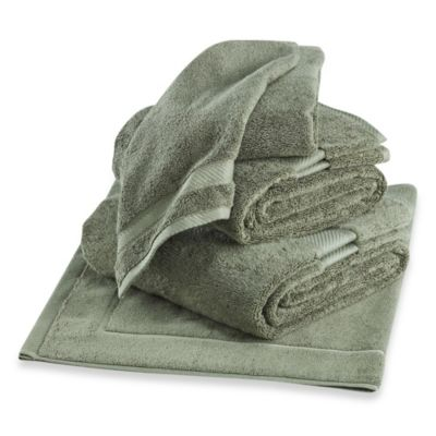 Wamsutta® Duet Washcloth in Sage