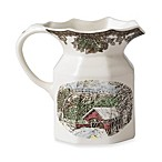 Friendly Village 8.8-Inch Medium Pitcher