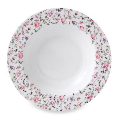 Royal Albert Rose Confetti Formal Vintage Soup/Salad Bowl