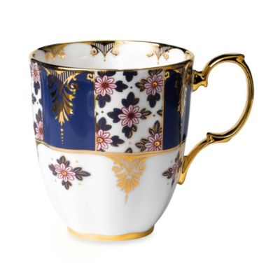 Royal Albert 100 Years:1900 Regency Blue Mug