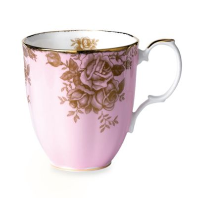 Royal Albert 100 Years:1960 Golden Roses Mug