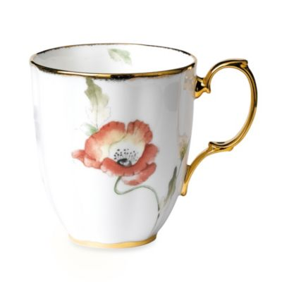 Royal Albert 100 Years 1970 Poppy Mug