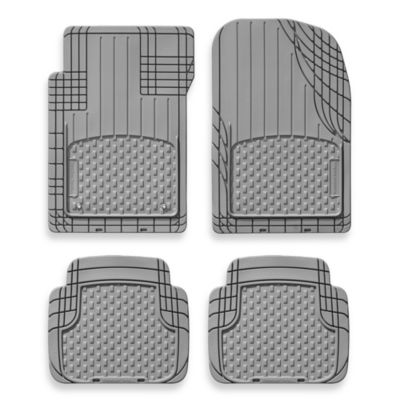 WeatherTech® 11AVMSB Universal All-Vehicle 4-Piece Mats in Black