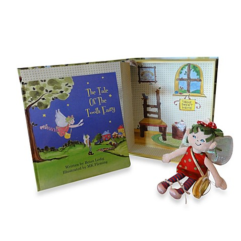 Tale of the Tooth Fairy Story Book Set w/Plush Girl Fairy