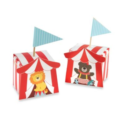 "Baby Aspen ""Big Top"" Circus Favor Boxes (Set of 24)"
