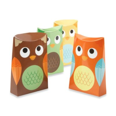 "Kate Aspen® ""Whooo's Happy"" Owl Favor Box (Set of 24)"