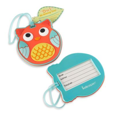 "Kate Aspen® ""Owl Be Seeing You"" Owl Luggage Tag"