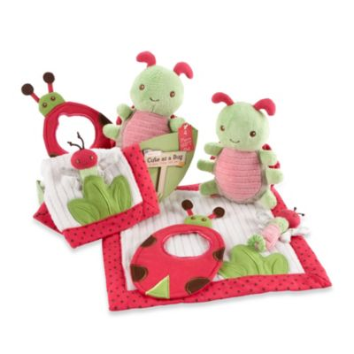 Baby Aspen 4-Piece Critter Gift Set