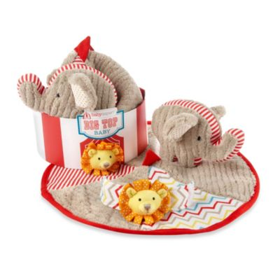 "Baby Aspen ""Big Top Baby"" 3-Piece Baby Gift Set"