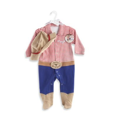 Baby Aspen Big Dreamzzz Baby Cowboy 2-Piece Layette Set