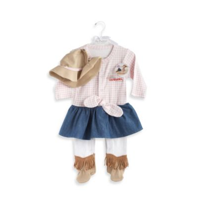 Baby Aspen Big Dreamzzz Baby Cowgirl 2-Piece Layette Set