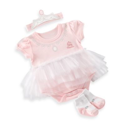 Baby Aspen Big Dreamzzz Princess 3-Piece Layette Set