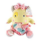 Baby Aspen Clover the Monster Plush Toy & Knit Baby Socks Gift Set