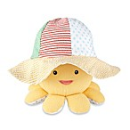 Baby Aspen Little Wader and Sun Shader Baby Sunhat and Plush Octopus Gift Set
