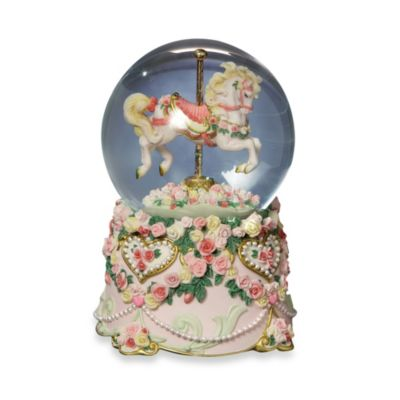 San Francisco Music Box Company® Hearts and Roses Water Globe