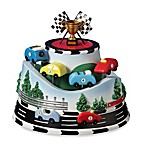 San Francisco Music Box Company® Race Cars Roller Coaster Figurine