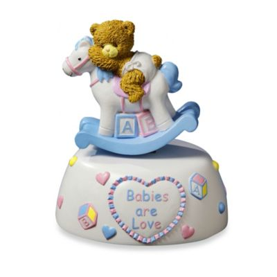 "San Francisco Music Box Company® ""Rock-A-Bye"" Baby Music Box"