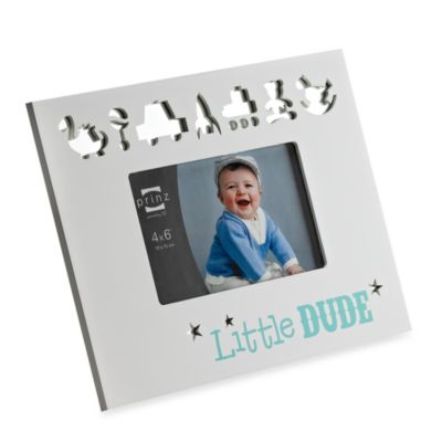 Prinz Reflection of Me Little Dude Wood Photo Frame