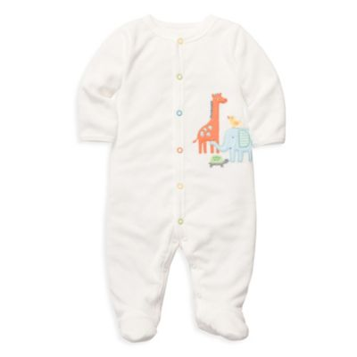 Carter's® Terry Snap-Up Sleep & Play in Ivory Jungle